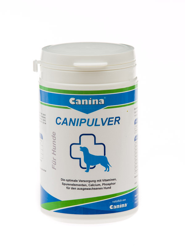 Canipulver, ab 350 g