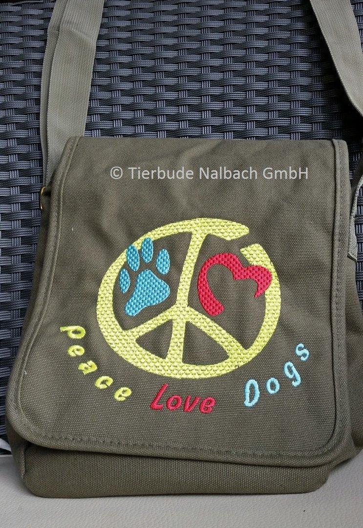 Stickdatei Peace, Love, Pet, Rahmen 13 x 18 direkter Download